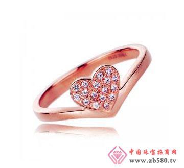 芳心为爱-18K玫瑰金戒指