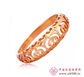 玫瑰芳心-18K金戒指