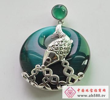 银弧珠宝--吊坠06