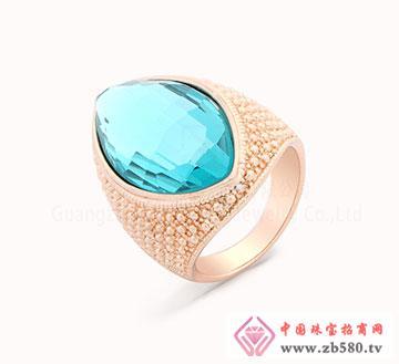 925纯银锆石戒指