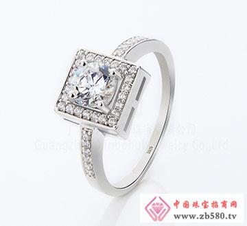 925银时尚情侣锆石戒指
