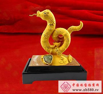 聚福源珠宝--金蛇顺通