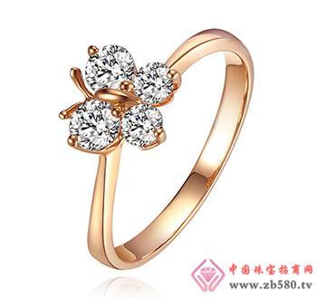 巴意珠宝--AU750钻石戒指1