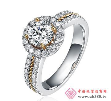 巴意珠宝--AU750钻石戒指