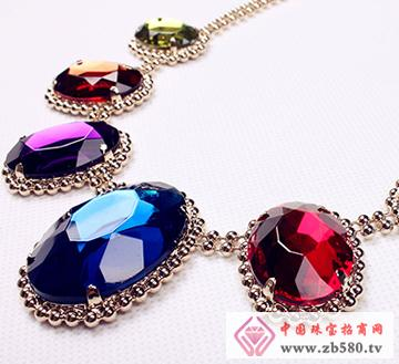 大昌珠宝--彩色宝石吊坠