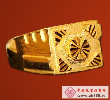 紫金黄金--戒指02