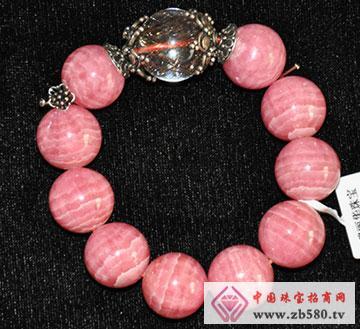 红纹石&水晶手串