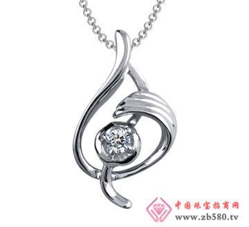 中龙金银--钻石吊坠01