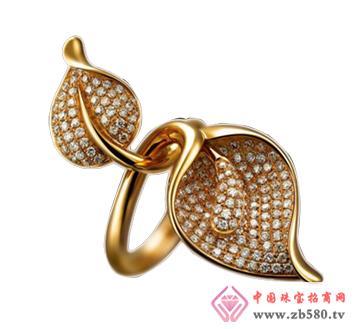 中龙金银--黄金首饰戒指03
