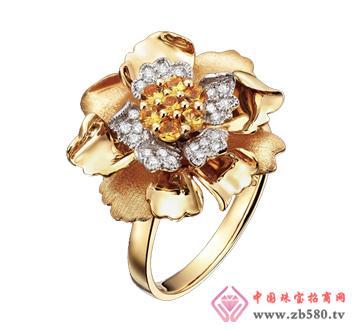中龙金银--黄金首饰戒指04