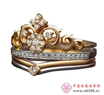 中龙金银--黄金首饰戒指06