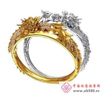 中龙金银--黄金首饰戒指07