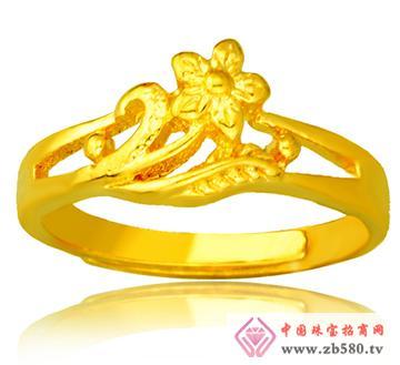 新合谊首饰--女士黄金戒指01