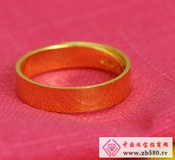 立体裁剪素圈戒指