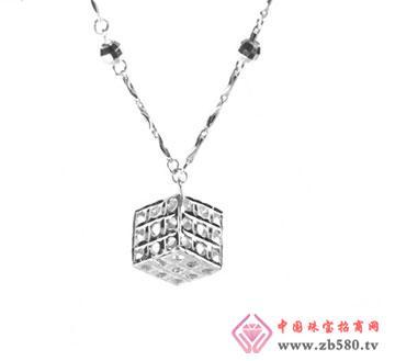 日韩风-晶闪魔方元宝链