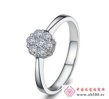 繁花似锦—18K白金29分钻石女戒