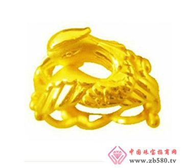 豫冠珠宝--黄金戒指02