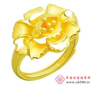 豫冠珠宝--黄金戒指03