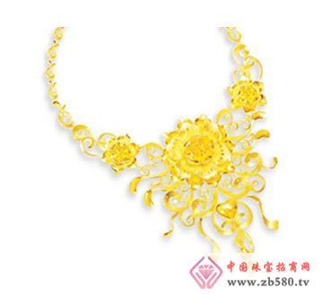豫冠珠宝--黄金项链
