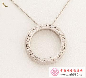 18K金钻石套链