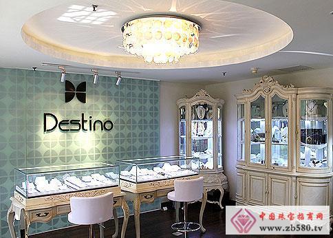 戴斯蒂诺珠宝店面展示1