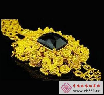 御泰首饰--金饰手链