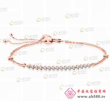 k金钻石手链