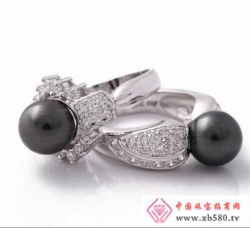 佳发珠宝--黑珍珠对戒01