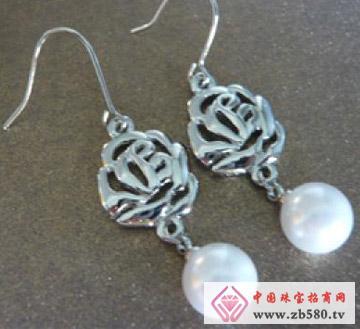 佳发珠宝--珍珠耳环01