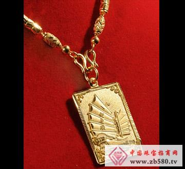 佳发珠宝--黄金吊坠01