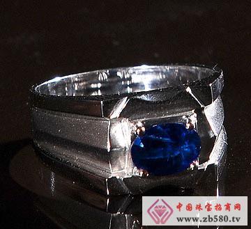 佳发珠宝--蓝宝石戒指01