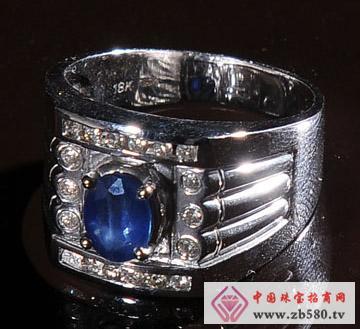 佳发珠宝--蓝宝石戒指02