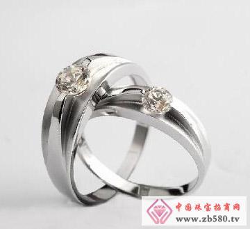 佳发珠宝--钻石对戒01