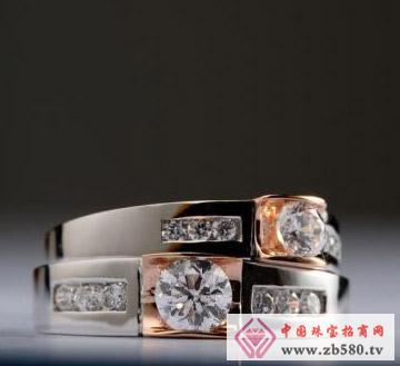 佳发珠宝--钻石对戒02