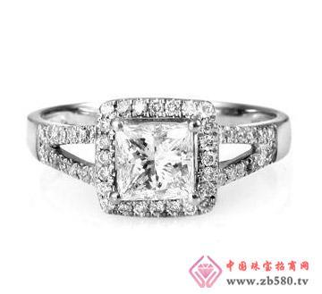 钻石宝贝清怡芳心一克拉公主方奢华