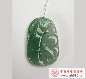 中国黄金珠宝--翡翠吊坠01