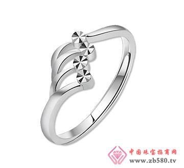 金兰首饰--铂金戒指-牵系