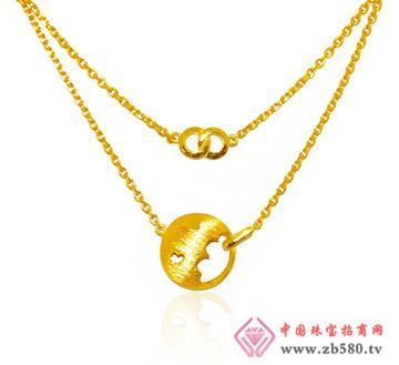 金兰首饰--精品足金项链-相遇印痕