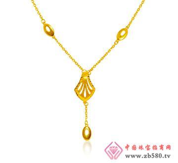 金兰首饰--精品足金项链-幸福港湾
