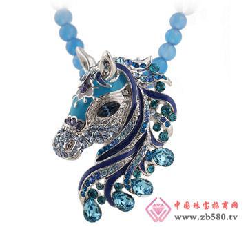 莫莉molie水晶项链-中国风十二生肖