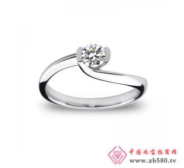 金丽珠宝--18K金钻石戒指
