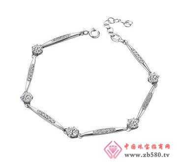 金丽珠宝--18k金钻石手链
