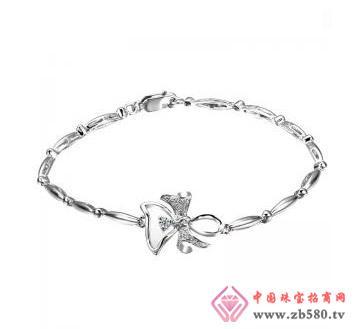 金丽珠宝--Pd950钻石手链