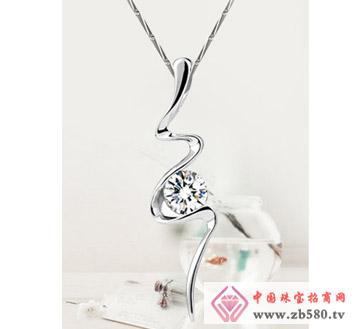 和富隆珠宝--925纯银项链