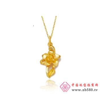 和富隆珠宝--9999千足金吊坠男女黄