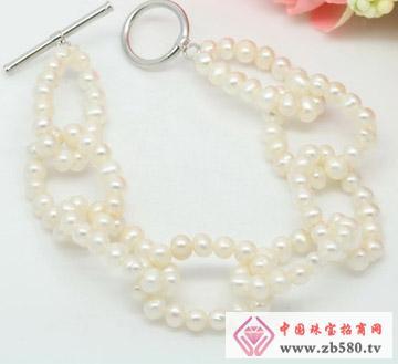 淡水珍珠套圈手链