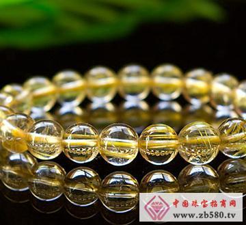 佰瑞福珠宝--发晶手链