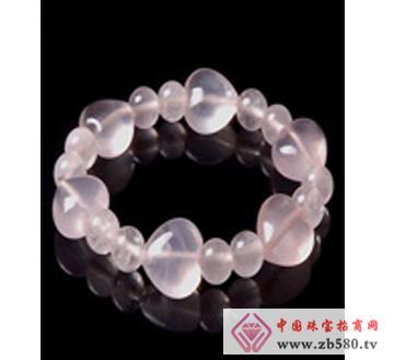 佰瑞福珠宝--粉晶手链