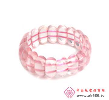 佰瑞福珠宝--粉晶手排