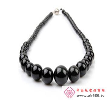 佰瑞福珠宝--黑曜石项链